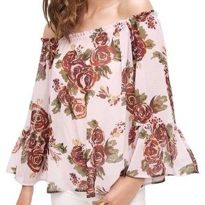 Anthropologie HD in Paris off the shoulder top M